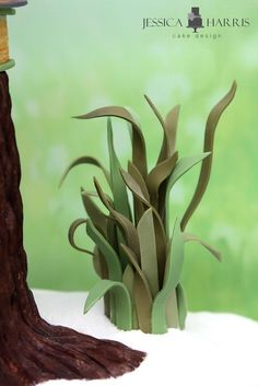 Fondant Grass Tutorial