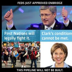 Help First Nations fight Enbridge in the courts - The Harper government just approved the Northern Gateway pipeline & tankers project. But itwill never get built because of the First Nations wall of opposition. Fighting government is expensive: support First Nations legal cases to stop Enbridge in BC.