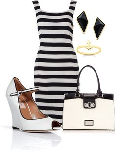 """""""Wedge Pumps :)"""" by going-under ❤ liked on Polyvore"""
