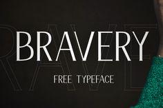 Bravery - Free Display Font