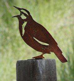 Meadowlark Metal Cutout