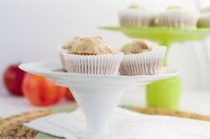 """Apple Pie Cupcakes w/ Cream """"Cheese"""" Frosting (#glutenfree & #dairyfree)"""