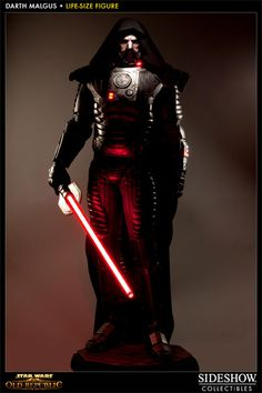 [SIDESHOW] Star Wars: The Old Republic – Darth Malgus Life-Size Statue