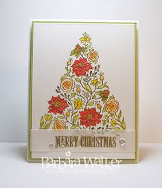 Power Poppy - The Blog: Sharing the Joy! Card by Barbara Walker