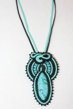 Beautiful Soutache Neclace  #209