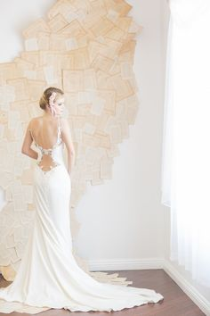Backless Wedding Dress Spotlight: Galia Lahav's Saffron Gown by Confetti Daydreams