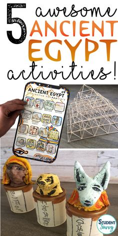 Discover recipes, home ideas, style inspiration and other ideas to try. Ancient Egypt Activities, Ancient Egypt Crafts, Ancient Egypt For Kids, Ancient Aliens, Ancient Egypt Lessons, 6th Grade Social Studies, Social Studies Activities, History Activities, Ancient Egypt Pyramids