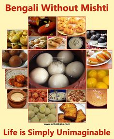 Mouth Watering Sweets that Bengalis Live For. Bengali Food, Kolkata, Sweets, Breakfast, Sweet Pastries, Goodies, Baking, Morning Breakfast, Candy