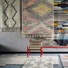 Transform your space with Moroccan style rugs from west elm. Shop our stylish selection of quality rugs in a range of sizes and colors. Living Room Styles, Living Room Designs, Moroccan Style Rug, Moroccan Rugs, Discount Area Rugs, Bee Embroidery, Fabric Rug, Textiles, Shop Front Design