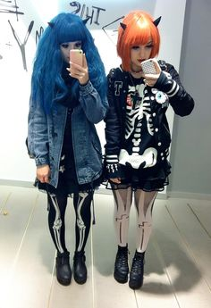 """loversrock: """"Fashion monster with Pastelbat today ~! """""""