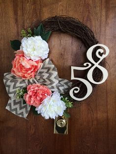 Wreath DIY #homemade #DIY summertime