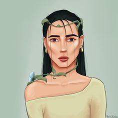 Artist: @nelebalke Hair Illustration, Wet Hair, Princess Zelda, Illustrations, Artist, Fictional Characters, Illustration, Artists, Fantasy Characters