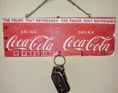 When the serviette goes on skew🙈😁. Anyway Retro Coke key holder gone wrong. Still looks awesome❤ Gone Wrong, Coke, Be Still, Coca Cola, Decoupage, Retro, Awesome, Instagram, Rage