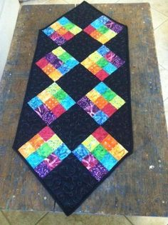 Fun Easy Table Runner by ManonQuilts | Quilting Pattern - Looking for your next project? You're going to love Fun Easy Table Runner by designer ManonQuilts. - via @Craftsy