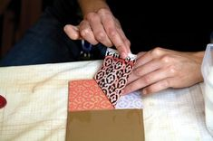 How to create colorful patterns on pottery with silp transfer. Lauren Karle, Ceramic Arts Daily