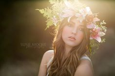 Beautiful, dreamy portrait. | Susie Moore Photography.