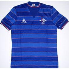 3e4947857 Chelsea Home Kit 1983-85 Chelsea Fc Team, Chelsea Football, Vintage  Football Shirts