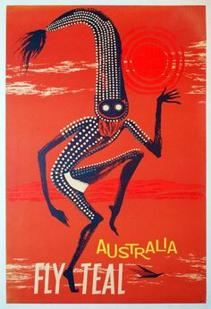 Australia • Fly TEAL (1950s)