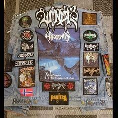 Sebástiánður from Germany #battlejacket #metalpatches #metaljacket #kutte #bandpatch #bandpatches #battlevest #heavymetal #thrashmetal #denimjacket #patchedvest #deathmetal #metalpatches #metal #wovenpatch #destruction #metalhead #metalmaniac