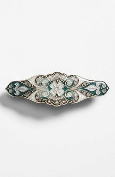 L. Erickson Jeweled Spanish Barrette available at #Nordstrom; $54 as of 7/28/14