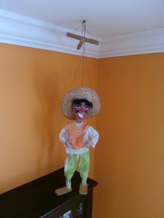 Vintage Mexican MARIONETTE man