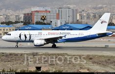 Zagros Airlines (IR) Airbus A3620-214 EP-ZAT aircraft, painted in ''Kish Dolphin Park'' special colors, rolling at Iran, Tehran Mehrabad Int'l Airport. 01/03/2018. (Kish=a resort island in the Persian Gulf).