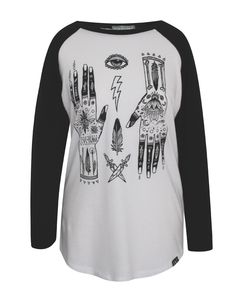 Mystical Hands Tee by Olive and Frank www.oliveandfrank.co.uk