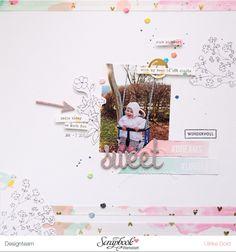 """Layout """"Sweet"""" - Pinkfresh Studio Felicity - von Ulrike Dold"""