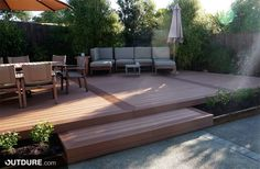 Are you looking for how to build floating deck plans step by step guide? I have here how to build floating deck plans guide you will love. Cool Deck, Diy Deck, Deck Patio, Floating Deck Plans, Portable Deck, Wood Plastic, Deck Framing, Decking Area, Wpc Decking