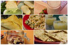 Receitas Vegetarianas para o Carnaval - Várias receitas de petiscos