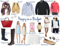 Preppy On a Budget | Where to Shop & What Pieces to Buy on Daily Dose of Charm by Lauren Lindmark