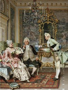 Litho After Arturo Ricci.The Suitor