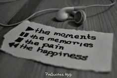 Pause the memories.