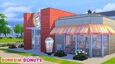 dunkin donuts in Sims 4!