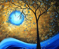 Modern or semi-abstract landscapes painting - Google Search