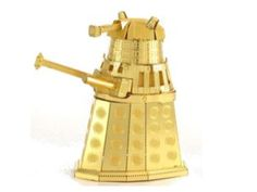 Doctor Who Metal Earth Model Kit - Gold Dalek - Doctor Who Model Kits