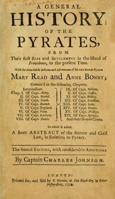 """If you're looking to start a career of piracy, this is the place to find a role model or two. This classic work chronicles the actions and adventures of some of the 18th century's most notorious pirates, including Henry Avery, Edward Teach, Stede Bonnet, """"Calico Jack"""" Rackam and Black Bart."""