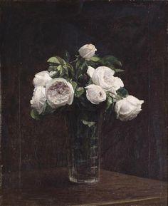 Le goût des roses :Henri Fantin-Latour…