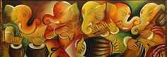 Ganesha is musicians