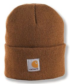Brown Watch Beanie