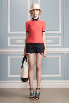 Loving the classicly preppy look from Jason Wu Resort 2012.