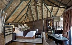 Book Serena Mivumo River Lodge, Selous Game Reserve, a luxury hotel in Selous. Kuoni is the most awarded luxury travel operator in the UK.