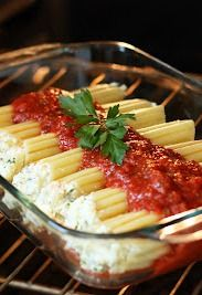 Manicotti - This dinner recipe is comfort food at its best   Cooking Classy #sponsored