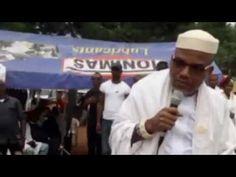 IPOB Leader Nnamdi Kanu defies court order, addresses Shabbat Rally – WATCH