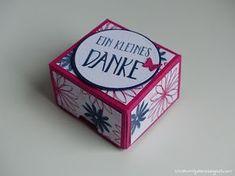 "Stampin' Up! - Geschenkbox mit dem Stempelset ""Perfekt verpackt"" gestaltet"