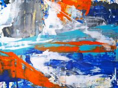 """untitled 1013- 30""""x40"""" oil on canvas by lindsay cowles art"""
