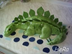 Dinosaur - http://beruna7.rajce.idnes.cz/dinosaurus_-_postup_vyroby/ - Photo Instructions