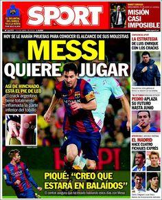 Portada Sport 2/04/2015
