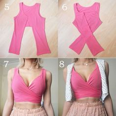 easy diy sew crop top - Google Search