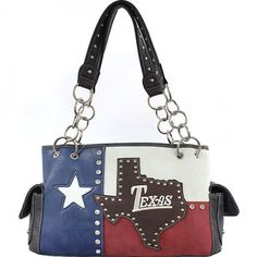 Concealed Carry Texas State Flag Handbag – Handbag Addict.com